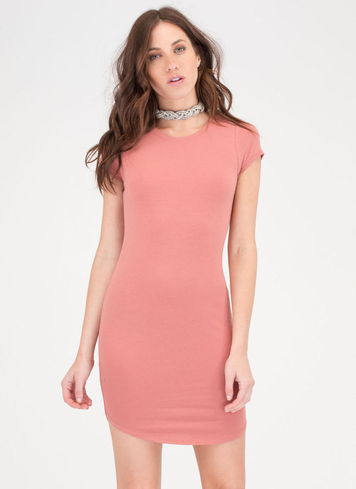The Final Round Hem Midi Dress