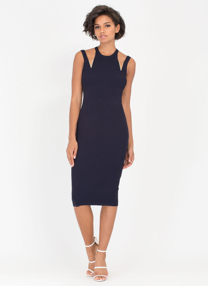 V Is For Victory Cut-Out Charm Dress