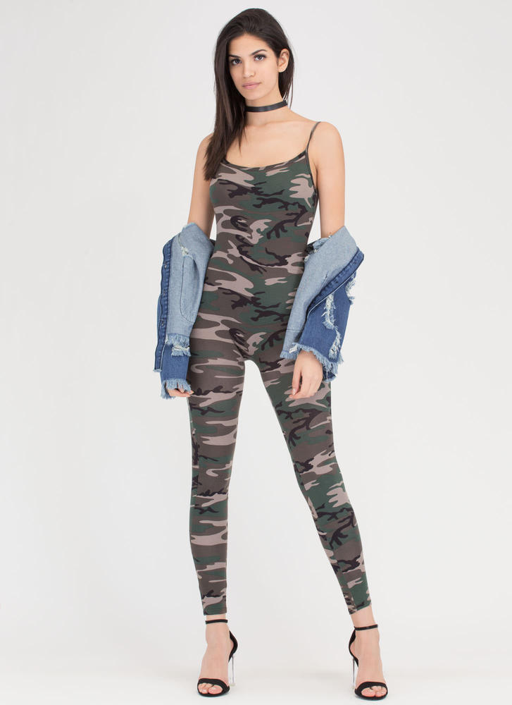 Free Form Camo Full Bodysuit