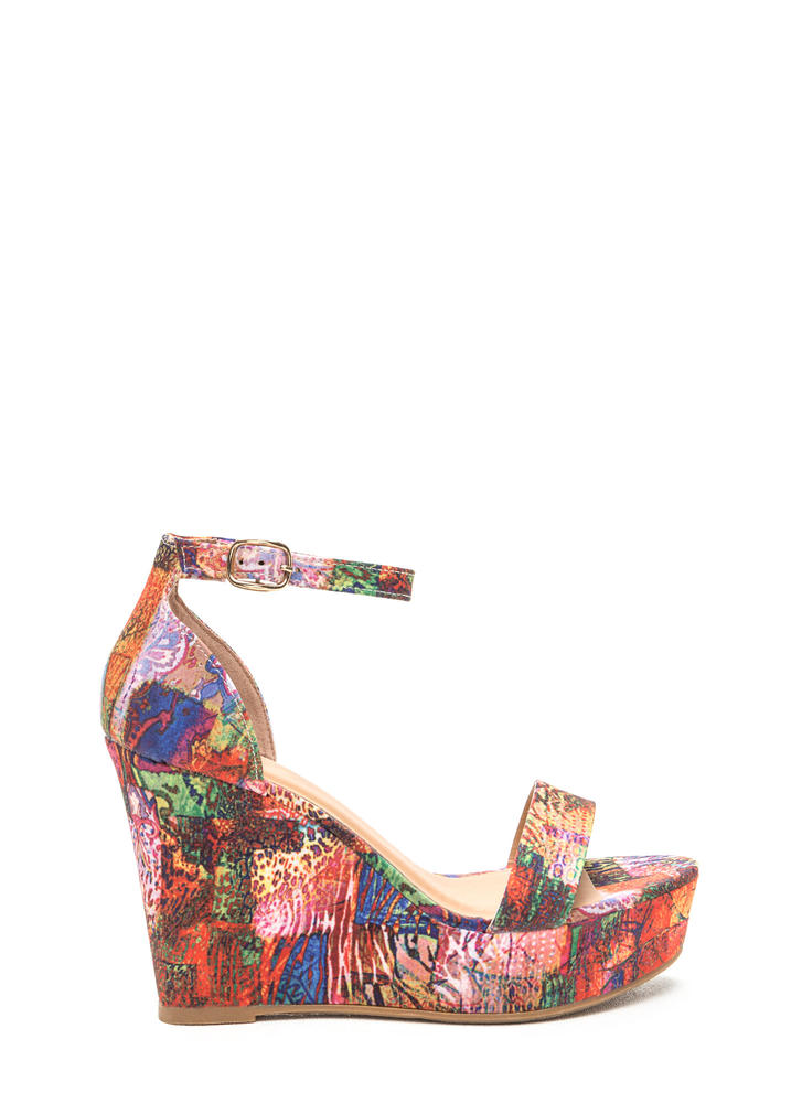 Print Impression Platform Wedges
