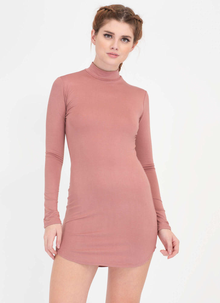 Simple Satisfaction Round Hem Dress