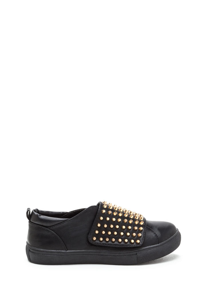 Quick Stud-y Slip-On Sneakers