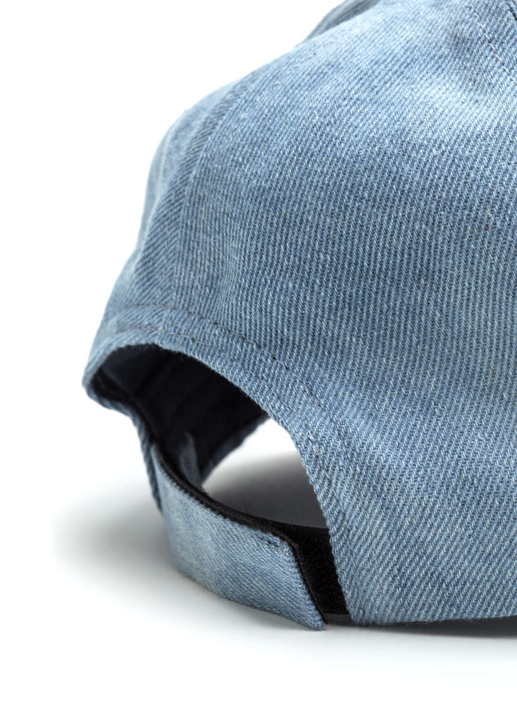 Jean On Me Baseball Hat LTDENIM