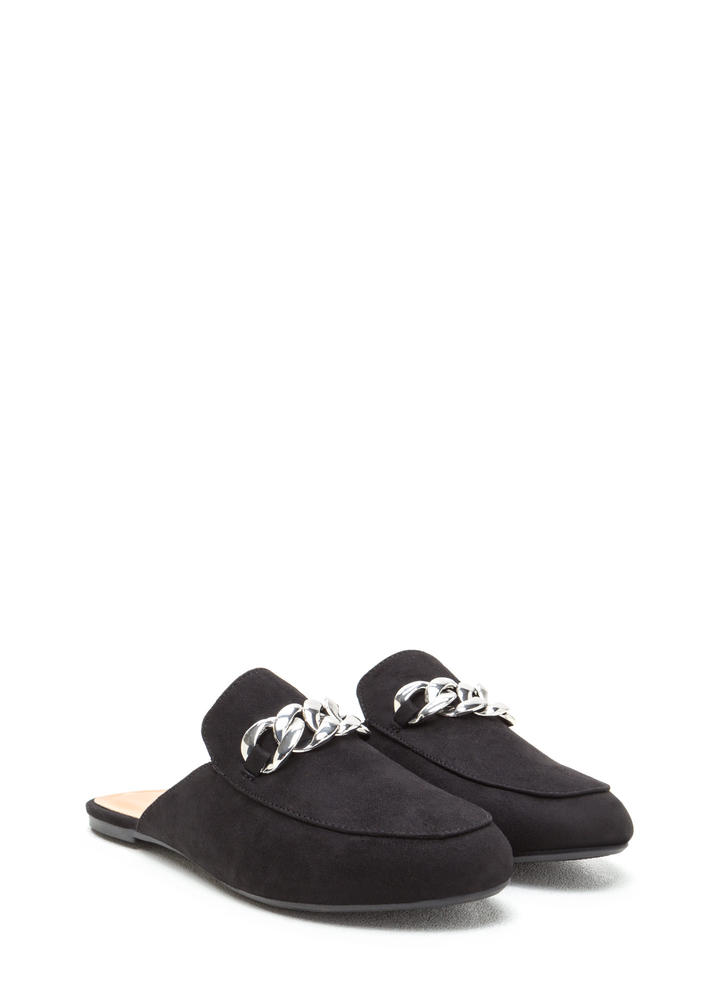 Chain Of My Existence Mule Flats BLACK