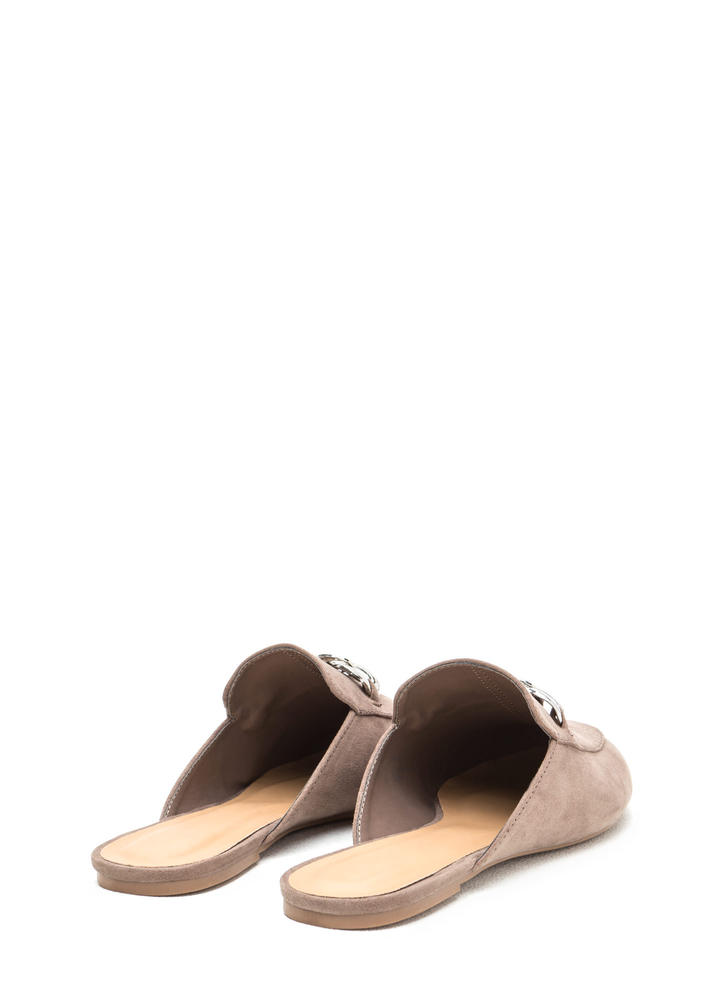 Chain Of My Existence Mule Flats TAUPE