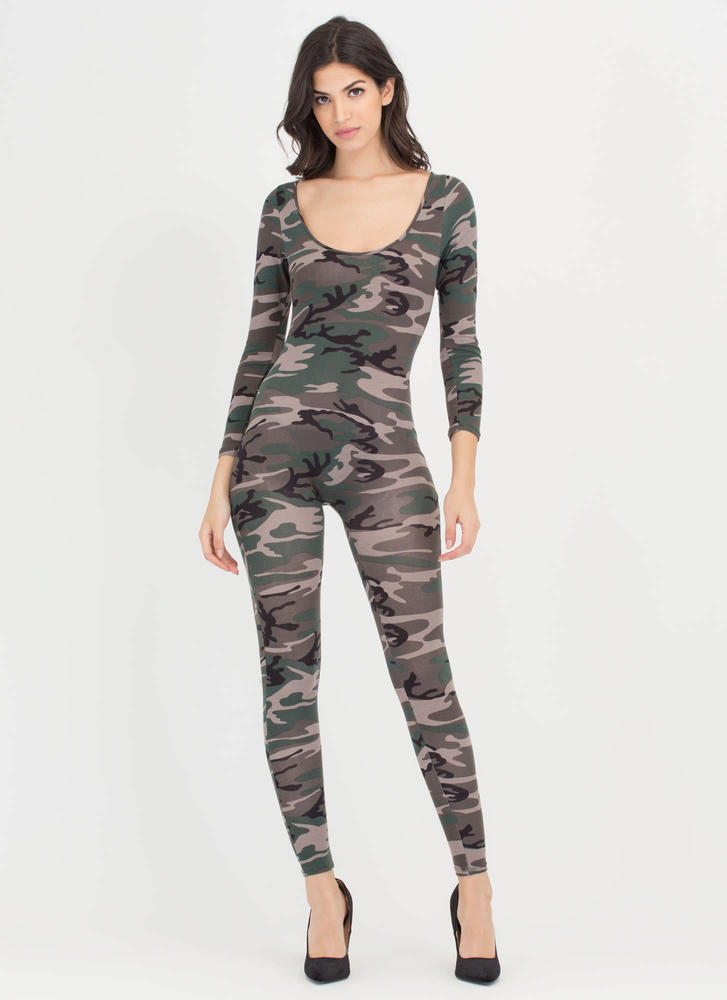 Join The Ranks Camo Full Bodysuit