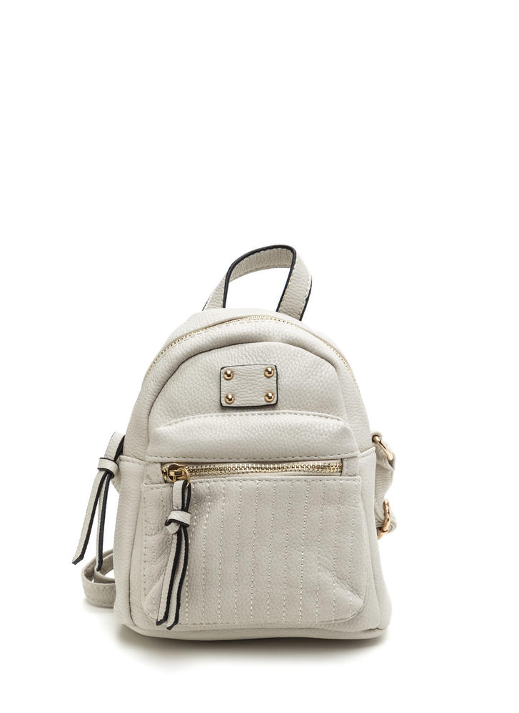 Small Talk Mini Crossbody Backpack