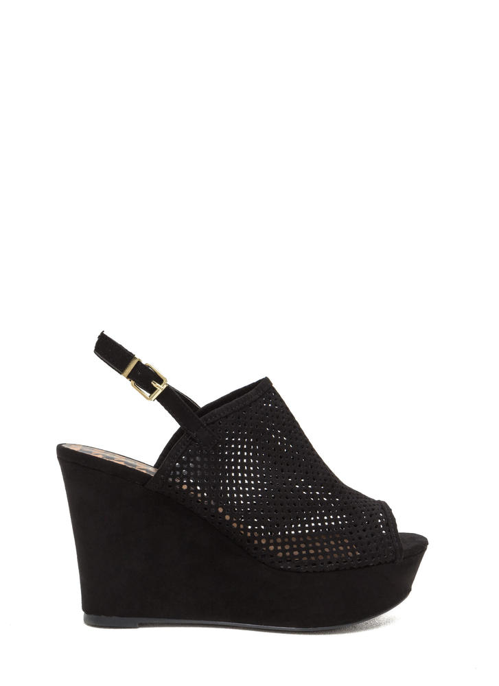 Perforated Peek Platform Wedges