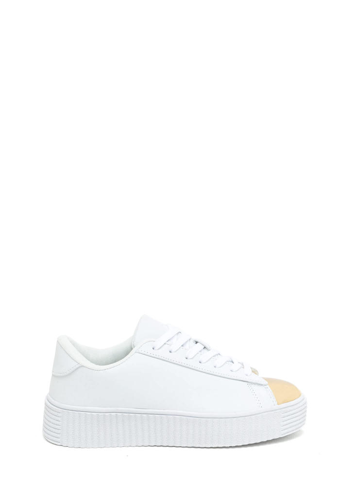 Thinking Cap-Toe Creeper Sneakers