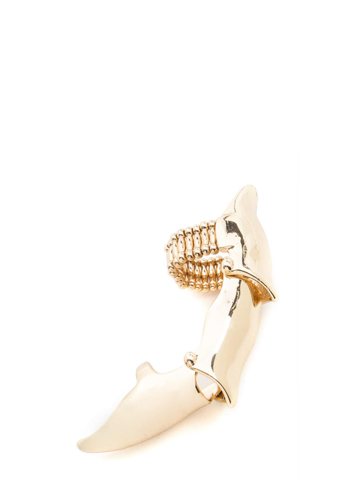 Body Armor Pointy Double Ring