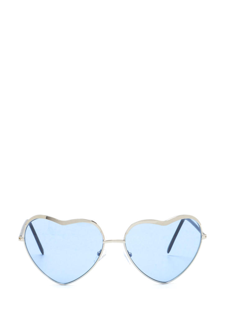Heart Act To Follow Sunglasses