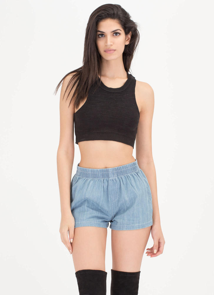 Mix 'N Match Chambray Shorts