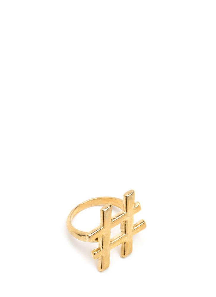 Viral Content Hashtag Ring