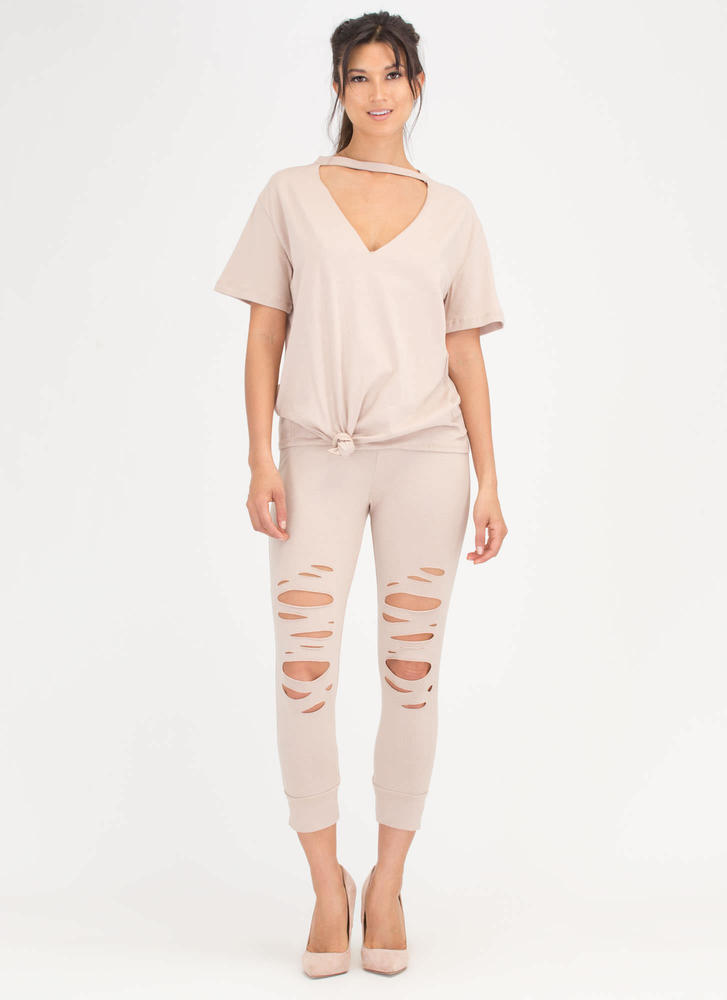 Knot A Chance Distressed Cut-Out Set