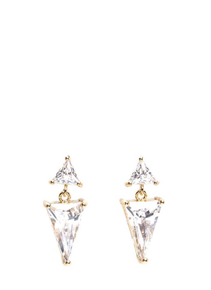 Chic Impact Faux Jewel Earrings