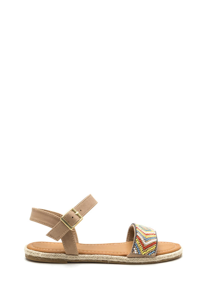 Take The Bead Espadrille Sandals