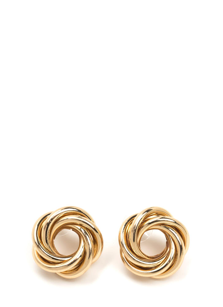 Like What You See Layered Earrings GOLD