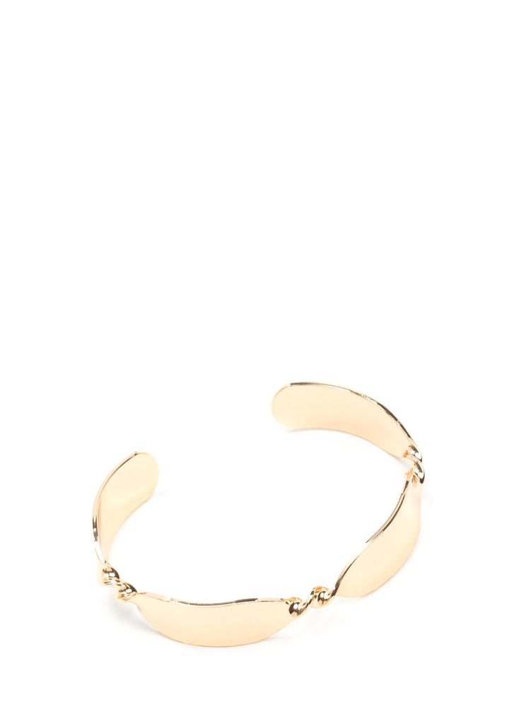Twist Of Fate Slim Cuff
