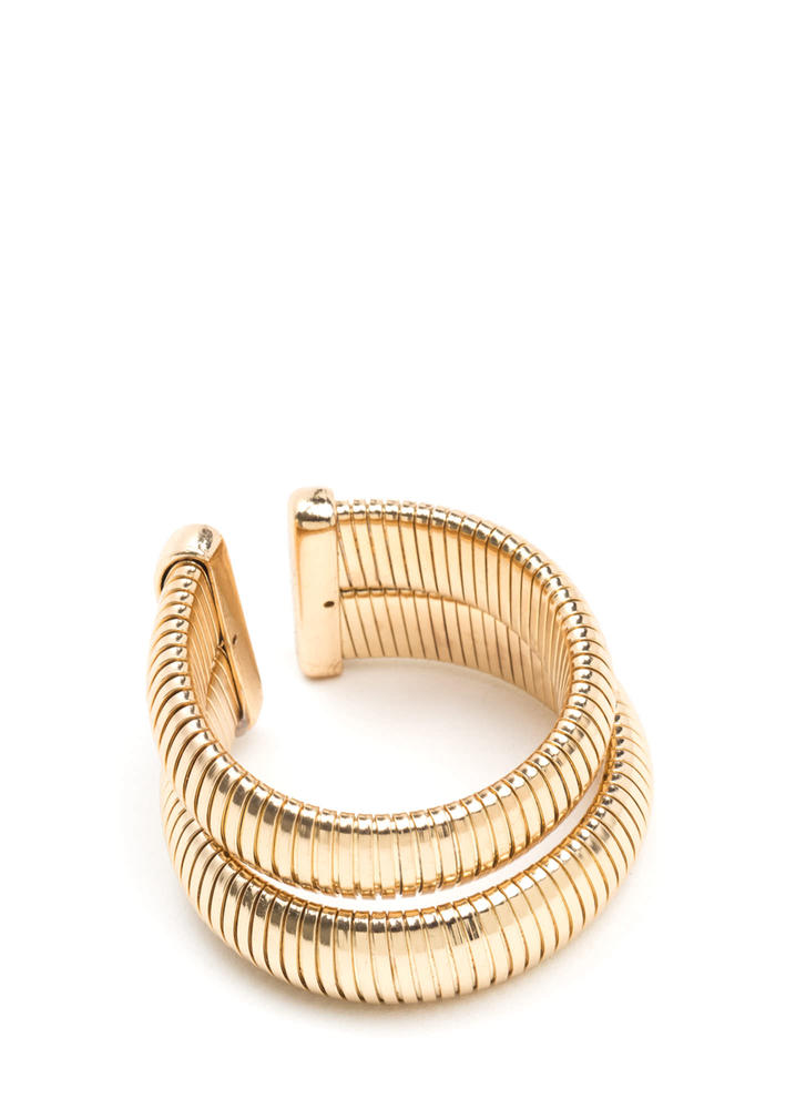 Double Or Nothing Chain Cuff