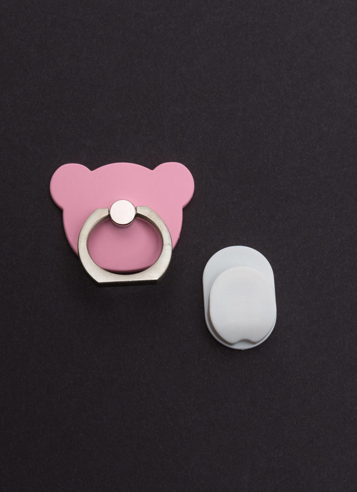 Can You Bear It Ring Phone Accessory PINK