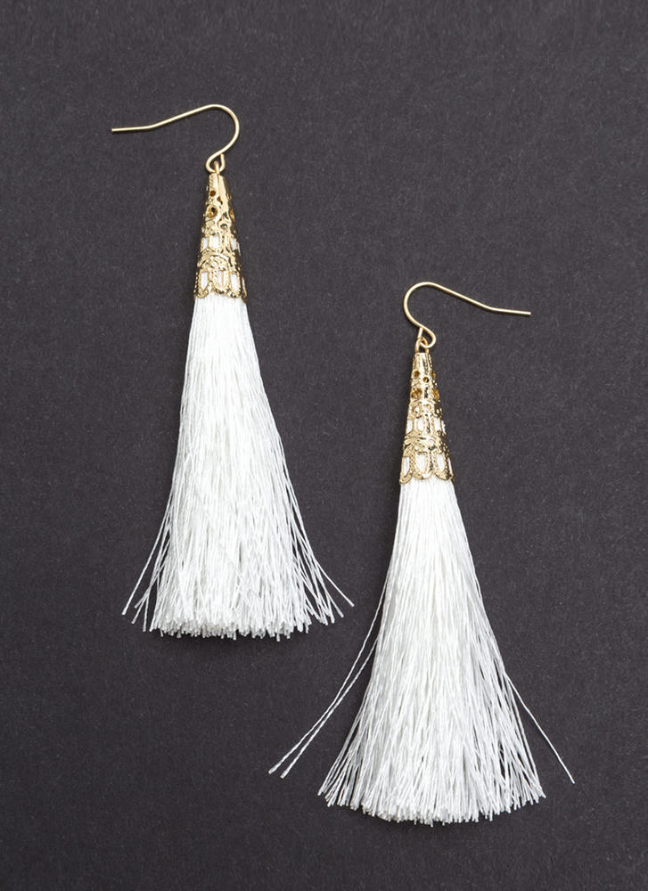 My New Threads Tassel Earrings