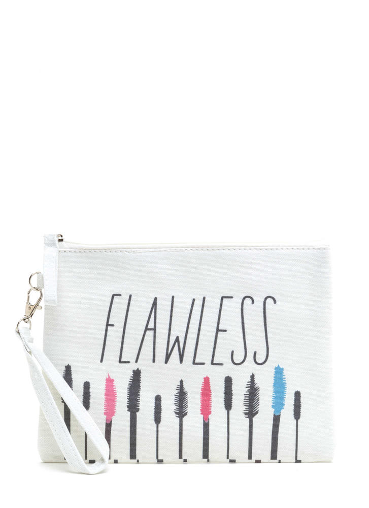 Flawless Look Zippered Makeup Bag