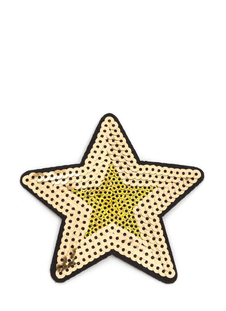 Star Quality Sequined Patch