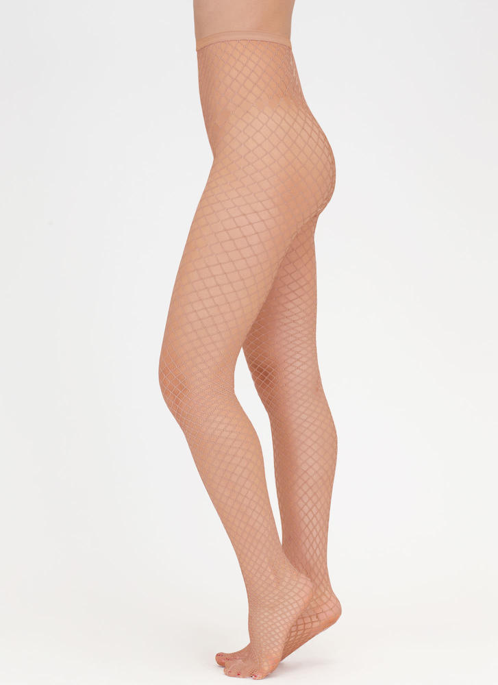 Diamond In The Fishnet Stockings NUDE (Final Sale)