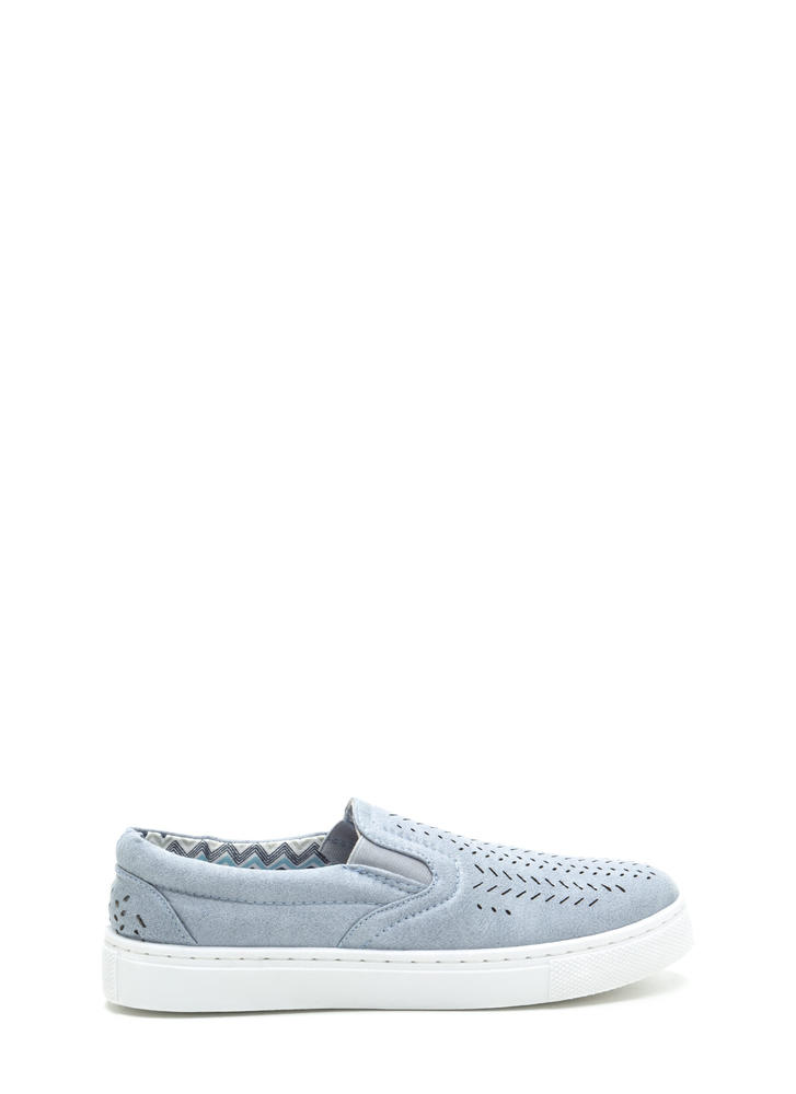 Slits All Good Faux Leather Sneakers