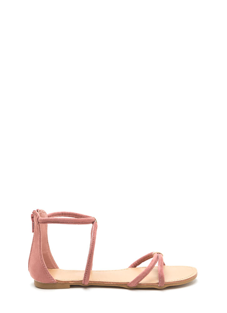 All Together Strappy Looped Sandals