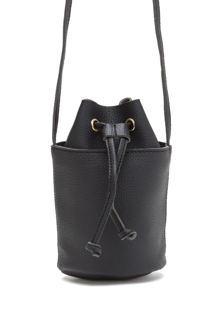 Chic About Town Mini Bucket Bag