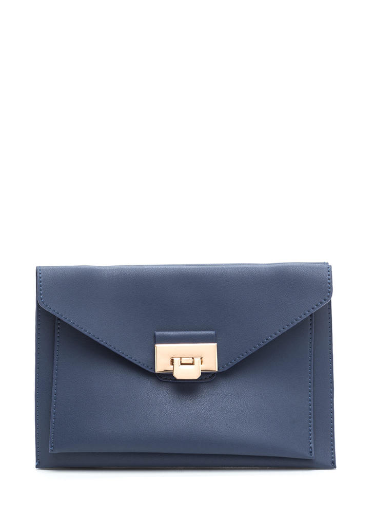 Fashion Story Double Envelope Bag