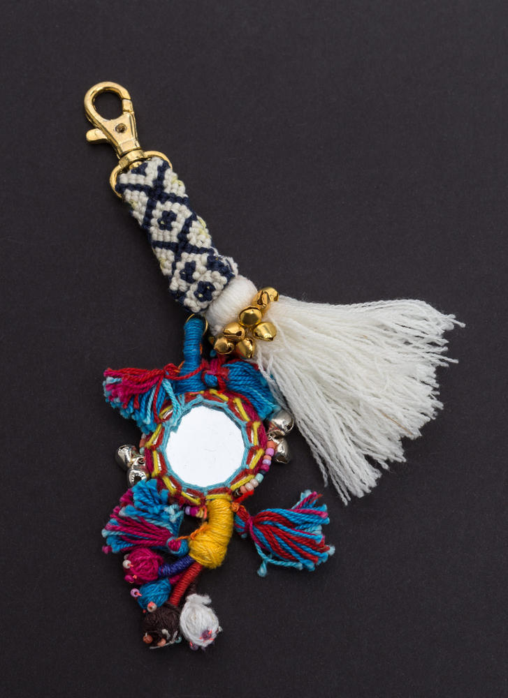 Bells And Whistles Tassel Keychain