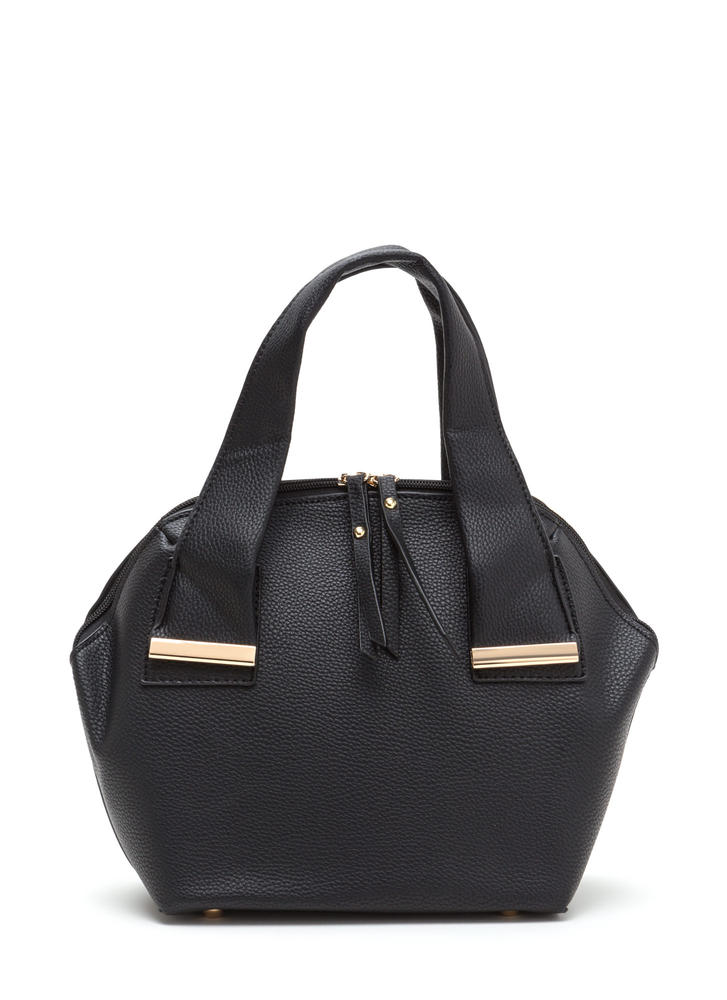 Finishing Touch Faux Leather Satchel