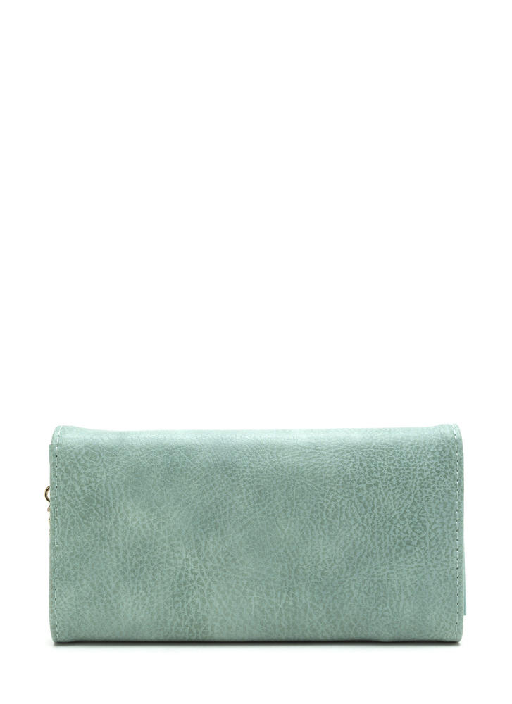 Chain Ring Action Envelope Wallet MINT