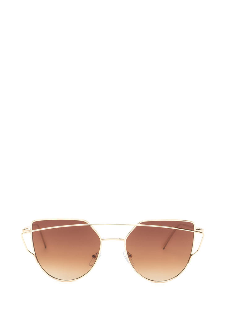 Chic Sophistication Brow Bar Sunglasses
