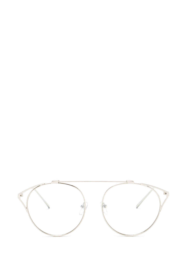 Frame Of Reference Round Glasses SILVER