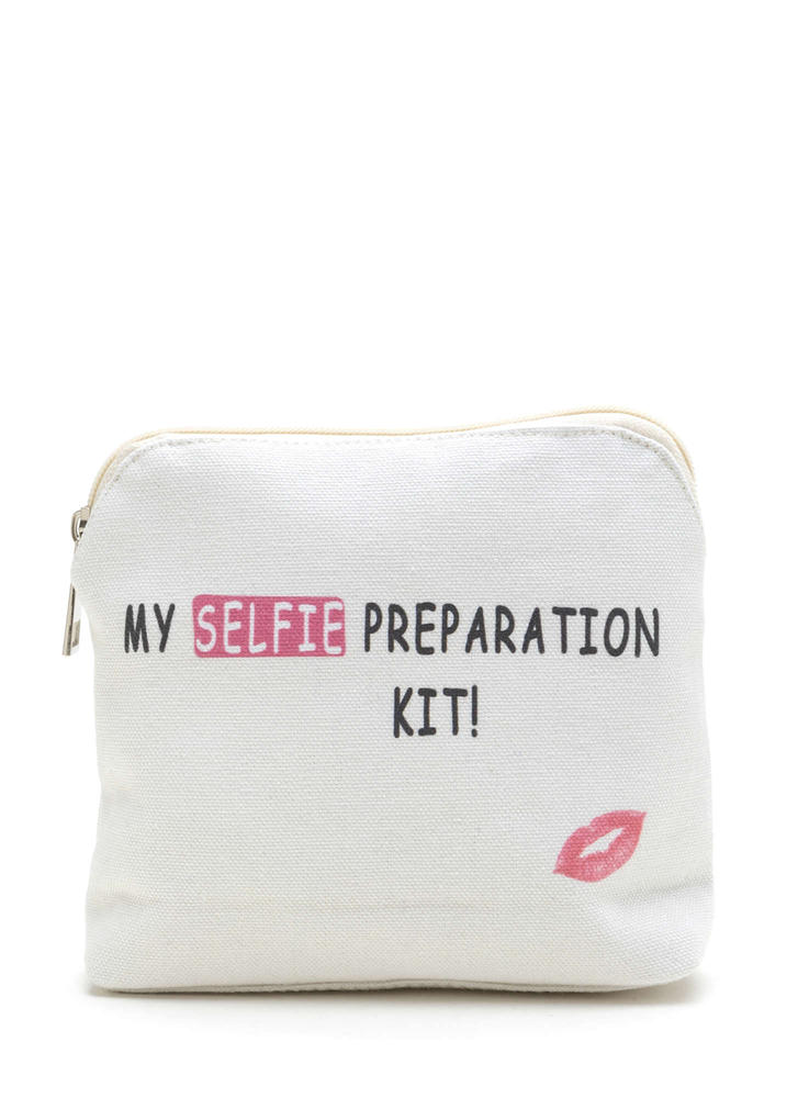 My Selfie Preparation Kit Makeup Bag