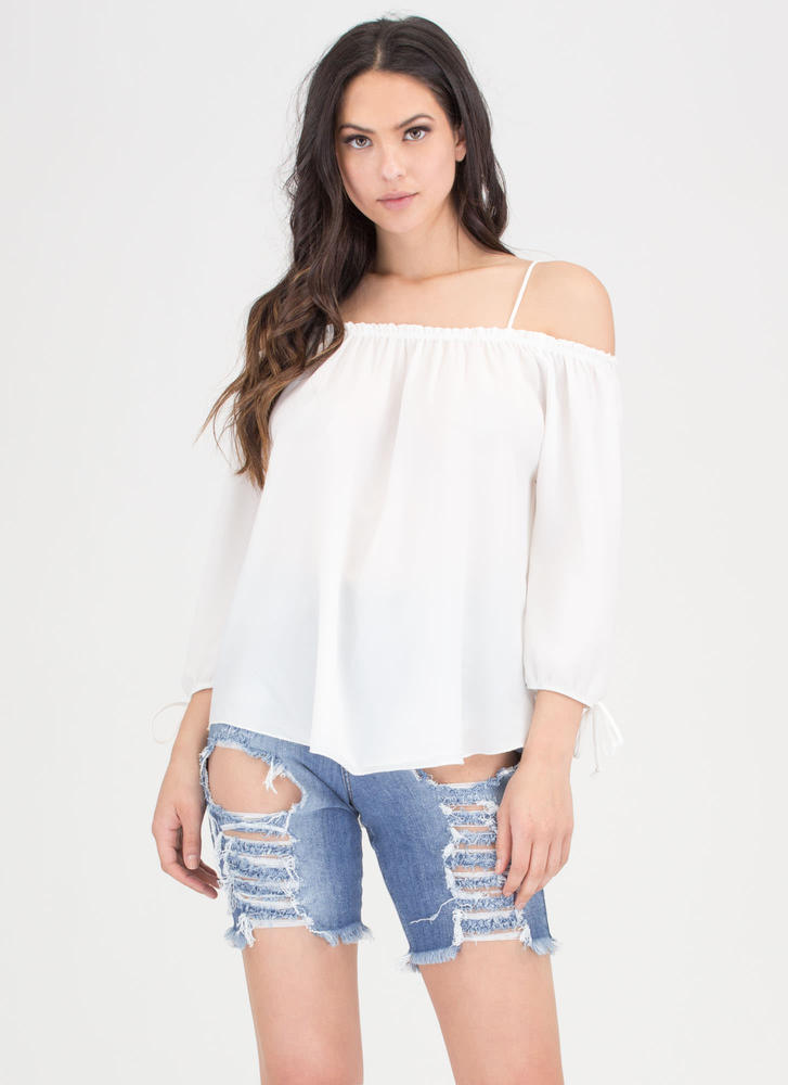 Give It To Me Baby Off-Shoulder Top