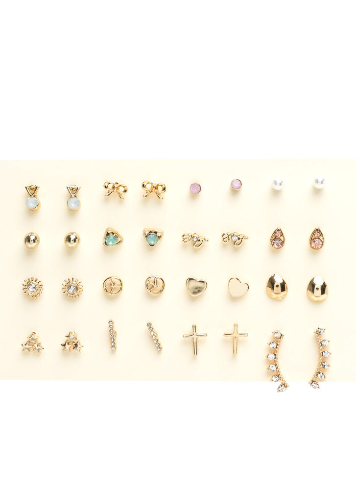 Sweet Sixteen Earpin Earring Set