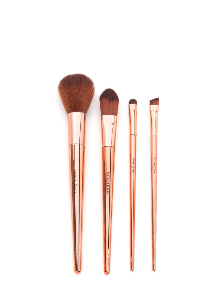 Face To Face Metallic Brush Set