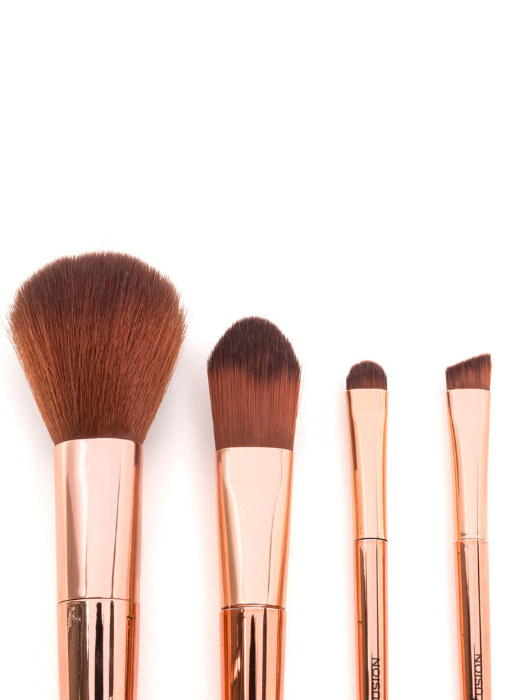 Face To Face Metallic Brush Set ROSEGOLD (Final Sale)