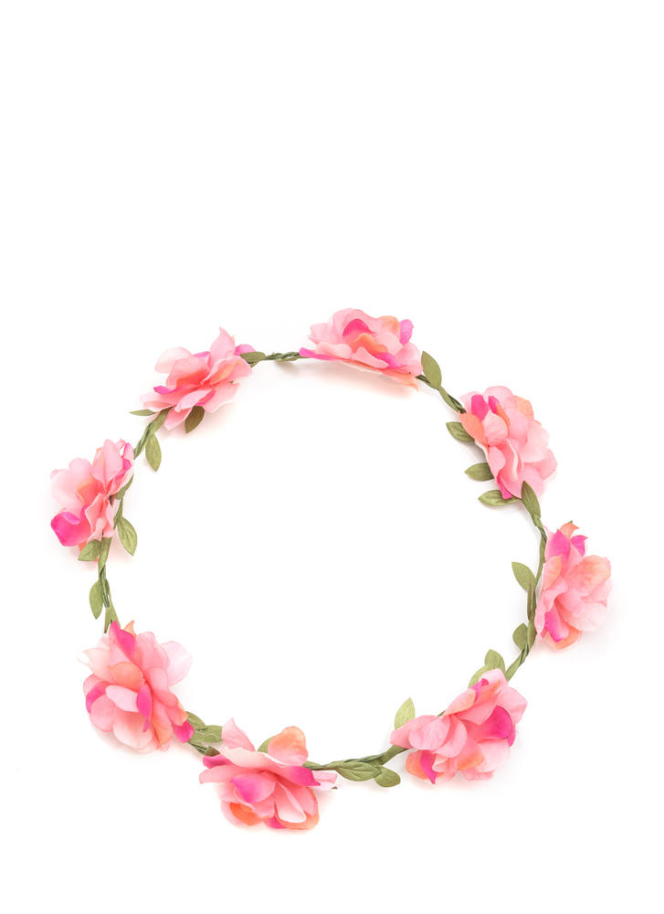 I'm A Vine Star Faux Flower Crown