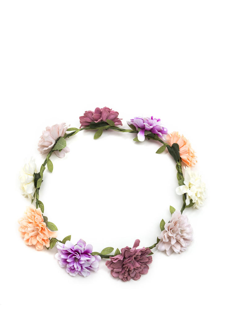 Into The Wild Flower Crown MULTI
