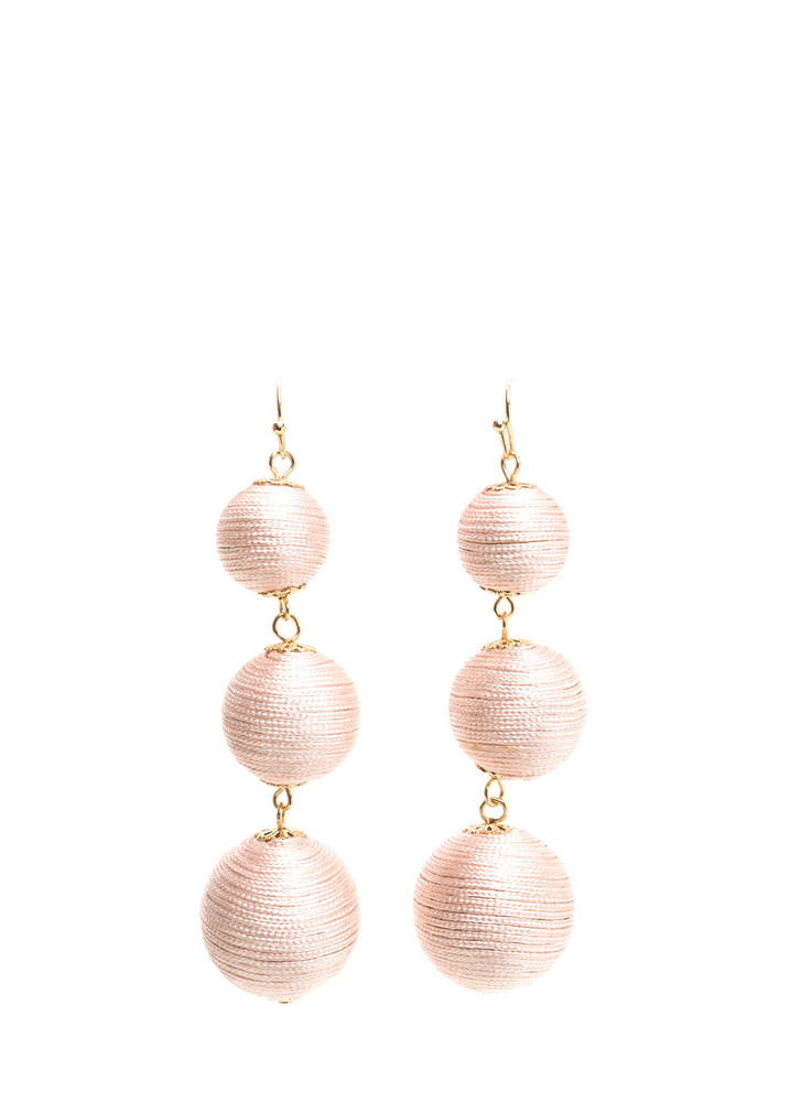 Having A Ball Textured Earrings