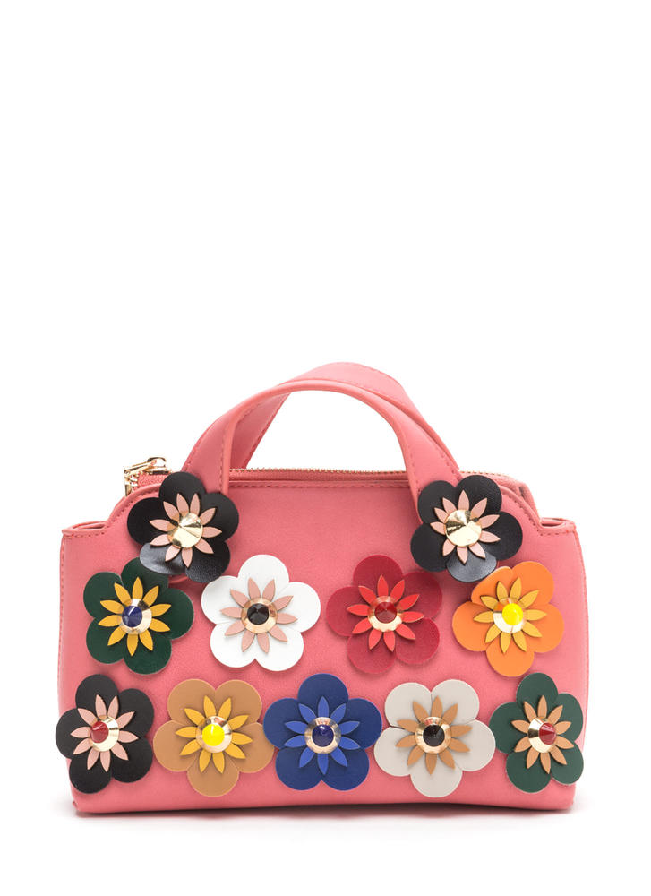Retro Delight Floral Mini Bag