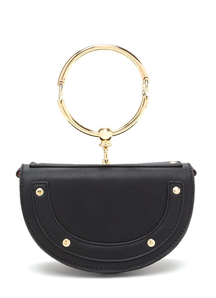 Ring Up-To-Date Faux Leather Bag