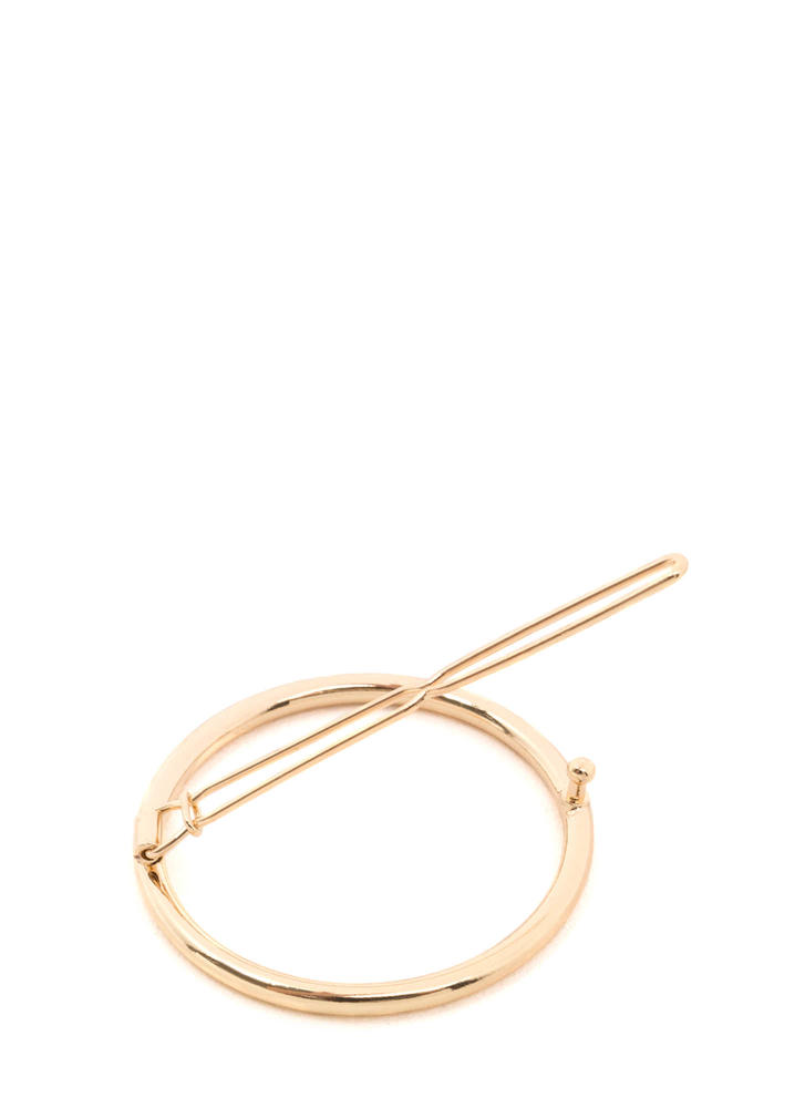 Ring In The New Hairpin Clip GOLD