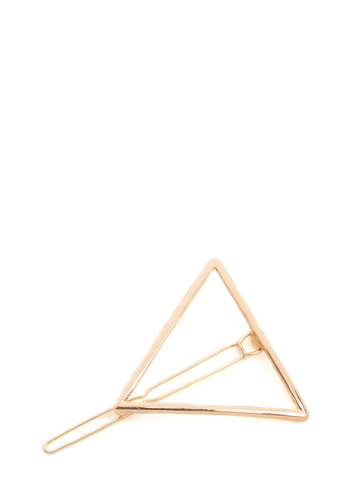 Love Triangle Hairpin Clip