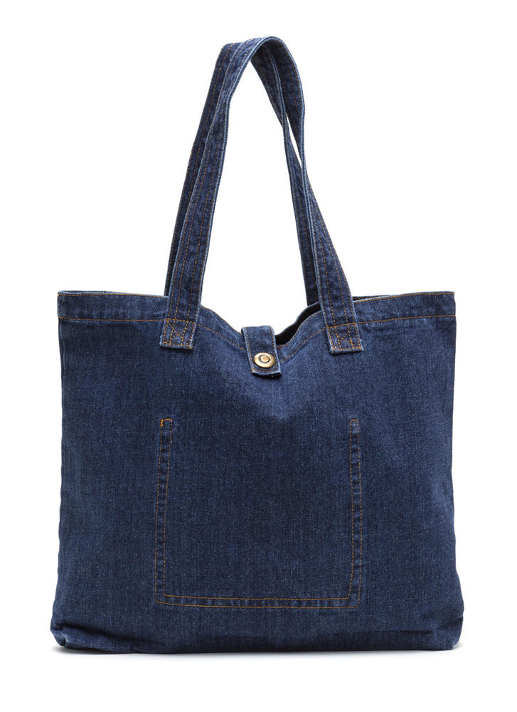 Style Jean-ie Denim Tote Bag